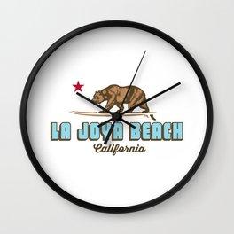 La Joya - California. Wall Clock