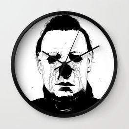 Myers, The Clown Wall Clock