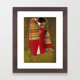 "Al Bousa ""The Kiss"" Framed Art Print"
