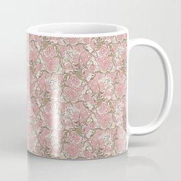 Dusky Pink Blooms Coffee Mug