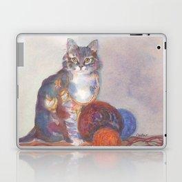 Purling Puss Laptop & iPad Skin