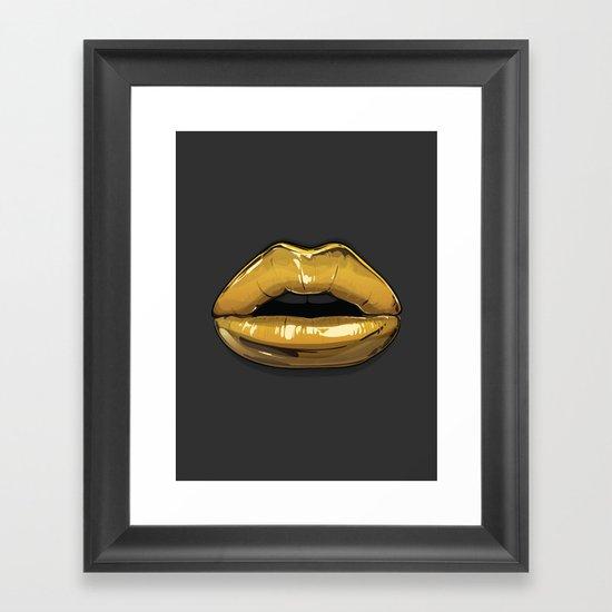 Goldie 1 Framed Art Print
