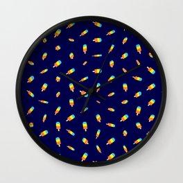 Flying ice pops  Wall Clock
