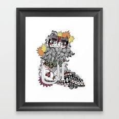Gata Framed Art Print