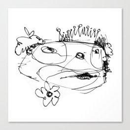 Clowns in Crowns #11 Canvas Print