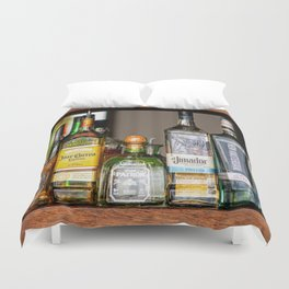 Last Call For Alcohol Duvet Cover