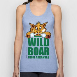 Wild Boar from Arkansas! Unisex Tank Top