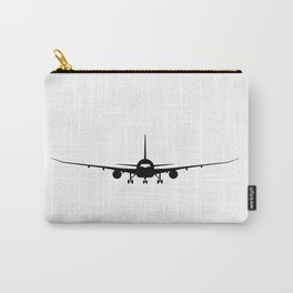 Plane Silhouette Carry-All Pouch