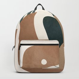 Abstract Plant in a Pot Backpack