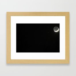 N is for nior #1 Framed Art Print