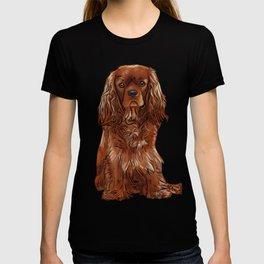 Cavalier King Charles Spaniel - Ruby T-shirt