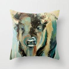 Buffalo Soldier Throw Pillow