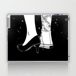 I'm a good woman and a bad girl Laptop & iPad Skin