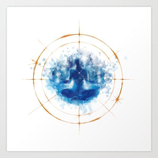 Re-Emergence Art Print