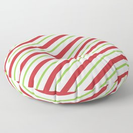 Candy Cane Floor Pillow