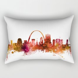 St Louis Missouri Skyline Rectangular Pillow