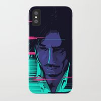 movie poster iPhone & iPod Cases featuring Oldboy - Alternative movie poster by FourteenLab