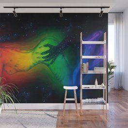 The touch of Event Horizon Wall Mural