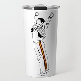 Freddie at Wembley Travel Mug