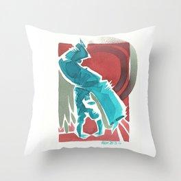 Capoeira 434 Throw Pillow