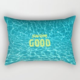 SWIM GOOD Rectangular Pillow