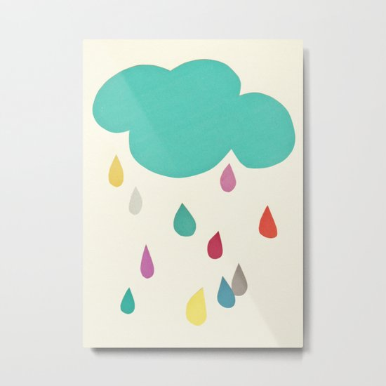 Sunshine and Showers Metal Print