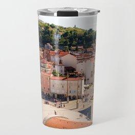 Mediterranean Summer Travel Mug