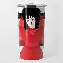 Lydia in Red Travel Mug