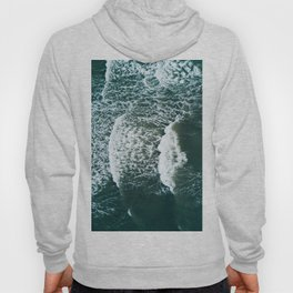 Wavy Waves on a stormy day Hoody