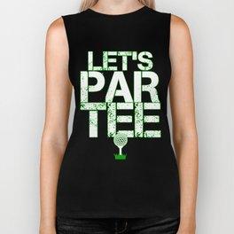 Let's Partee Biker Tank