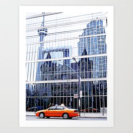 Urban Reflections Art Print