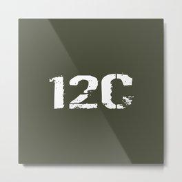 12C Bridge Crewmember Metal Print