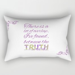 The Truth and the Impossible Rectangular Pillow