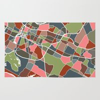 austin Area & Throw Rugs featuring Austin Texas + by Studio Tesouro