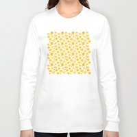 kansas Long Sleeve T-shirts featuring Kansas Pattern by Timone