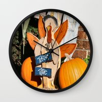 turkey Wall Clocks featuring Turkey Timer by IowaShots