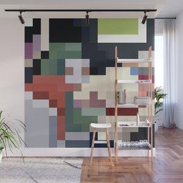 Mm Pixel Food Wall Mural