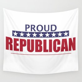 Proud Republican Wall Tapestry