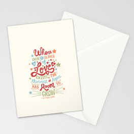 Sliver of Love Stationery Cards