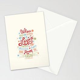Sliver of Love Stationery Cards
