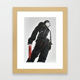 NO GUTS Framed Art Print