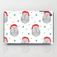 santa iPad Cases featuring Santa by Doucette Designs