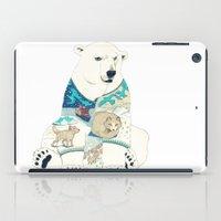 polar bear iPad Cases featuring Polar Bear by Yuliya
