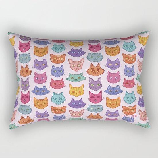 Caaaats cats catssss Rectangular Pillow