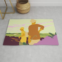 Yorkshire Moors hiking Rug