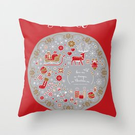 noel with love Throw Pillow