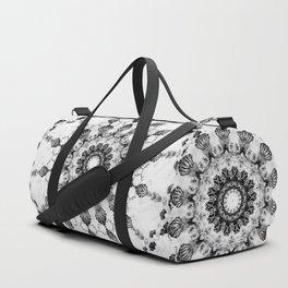 Damask design Duffle Bag