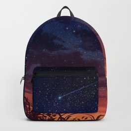 Anime Girl watching the stars Backpack