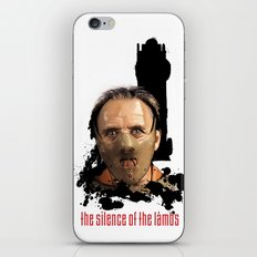 Hannibal Lecter: Monster Madness Series iPhone & iPod Skin