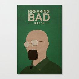 Breaking Bad Season Five Canvas Print